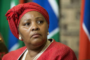 Minister of Defence and Military Veterans Nosiviwe Mapisa-Nqakula. File photo
