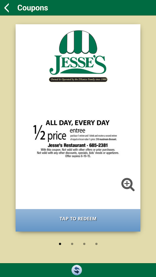 Jesse's Restaurant- screenshot