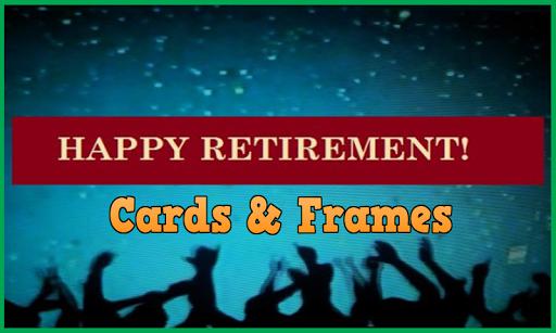 Happy Retirement: Card Frame