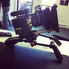 Photo: SHAPE office: SHAPE V-LOCK QUICK TIME RELEASE + Red Epic