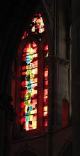 Photo: Alle Glasfenster sind aus der Liebfrauenkirche in Trier