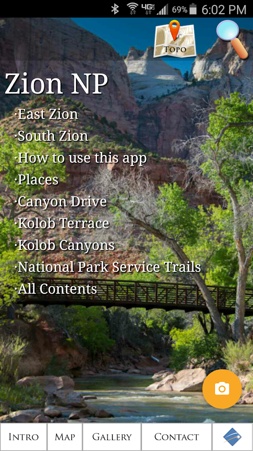 Zion National Park- screenshot