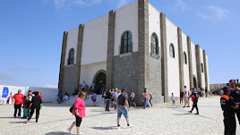 Imagen del Santuario en el cerro de Monteagud.