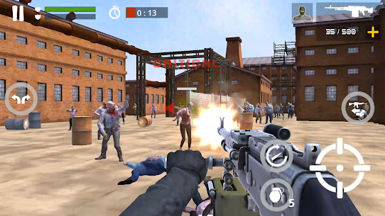 Dead Zombie Battle: Zombie Defense Warfare MOD (Money) 5