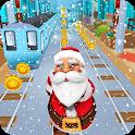 Subway Santa Run icon