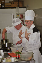 Photo: And Michael parted with lots of hints and tips from his years as a Master Chef.