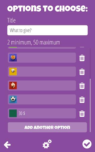 Decision Roulette 1.0.50 screenshots 2