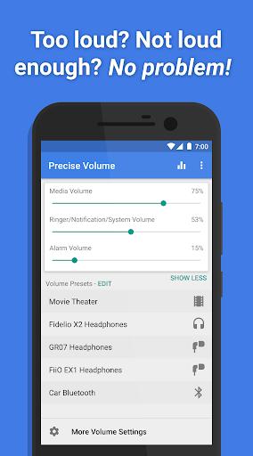 Precise Volume (+ Equalizer) screenshot 1