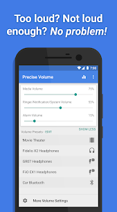 Precise Volume (+ EQ/Booster) Mod 1.19.1 Apk [Unlocked] 1