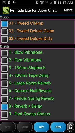 Remuda/SC Lite - USB Guitar Amplifier Control App 1.2.0-lite screenshots 3