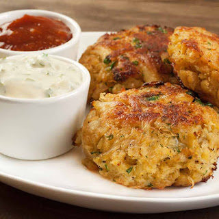 Maryland-style Crab Cakes.