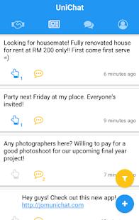 UniChat - náhled