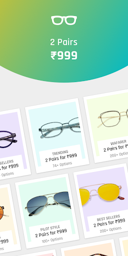 Lenskart: Eyeglasses, Sunglasses, Contact Lens App 2.6.1 screenshots 2