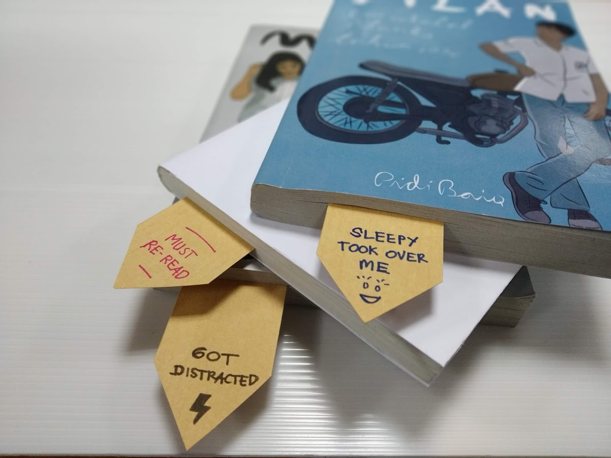 Bookmarks - Recycling Envelopes