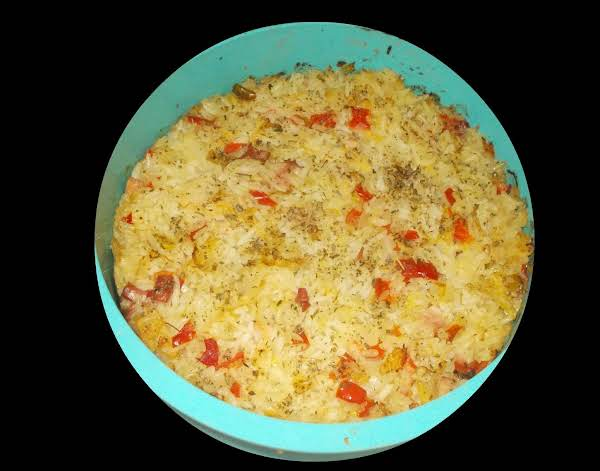 Sour Cabbage With Rice And Bacon Recipe