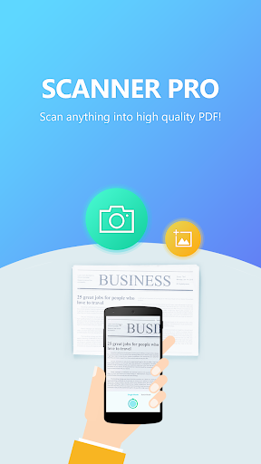 Super Scanner Pro - A  pocket scanner to PDF  screenshots 1