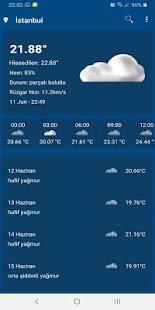 Download Hava Durumu For PC Windows and Mac apk screenshot 3