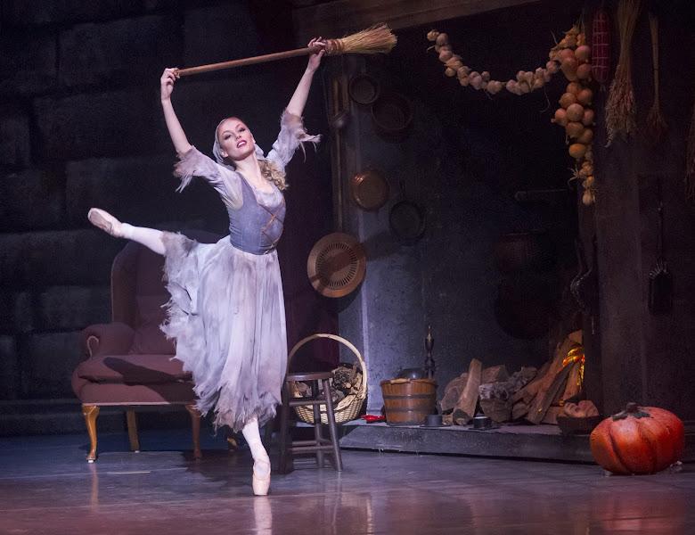 Photo: Alexsandra Meijer as Cinderella. Photo by Robert Shomler.