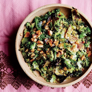 Roasted and Charred Broccoli with Peanuts recipe | Epicurious.com.