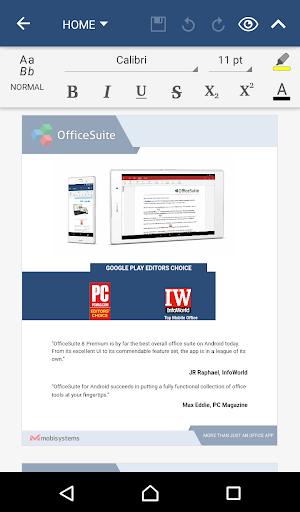 OfficeSuite Pro 8 PDF HD