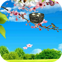 Spring Grassland Livewallpaper icon