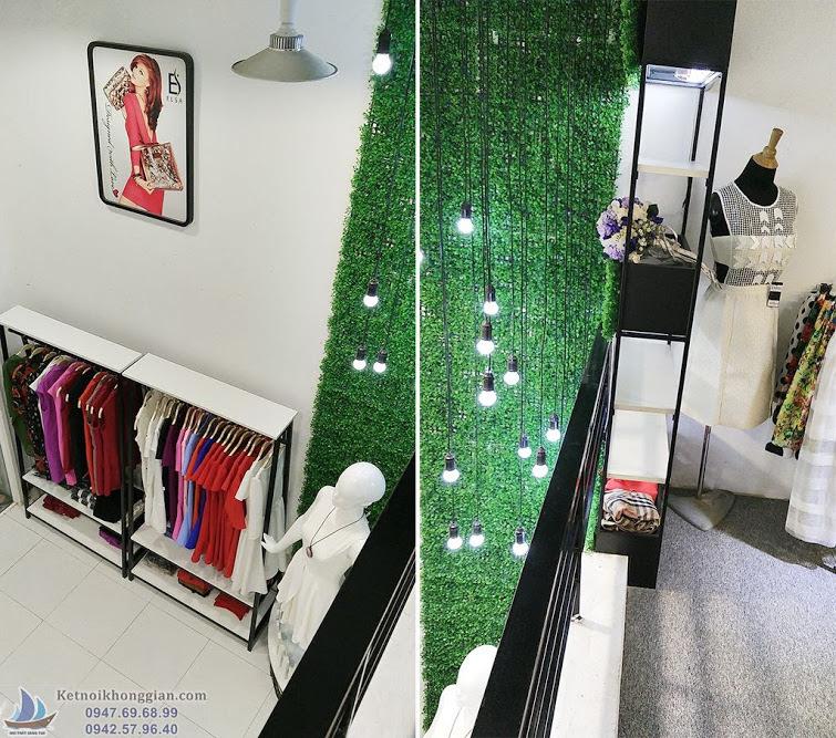 thi công shop thời trang nữ Elsa - thiết kế shop thời trang đẳng cấp