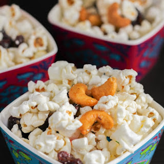 Sweet and Salty Popcorn Snack Mix