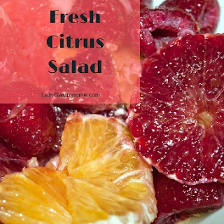 Fresh Citrus Salad.