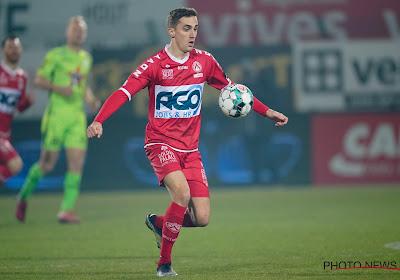 KV Kortrijk neemt afscheid van Julien De Sart