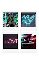 Neon Squares - Photo Collage item