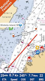 North Dakota Lakes GPS Map Navigator - náhled