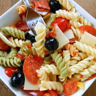 Deluxe Pasta Salad.