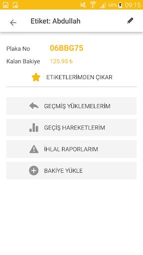 HGS - Online Bakiye Yükle screenshot 5