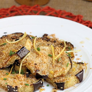"Sesame Crusted Eggplant ""Babaga-Not"""