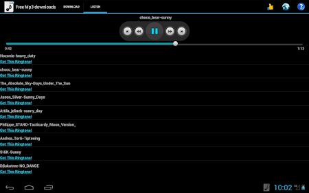 Free Mp3 Downloads 3.0 screenshot 19562