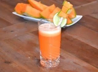 Cantaloupe Lime Cooler Recipe