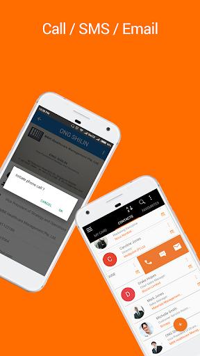 Business Card Reader: Card Scanner & Organizer Pro 1.3.2 screenshots 5