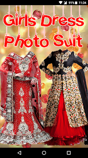 Girls Dress Photo Suite - náhled