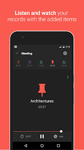 Canomapp - Voice recorder with Pictures and Notes- screenshot thumbnail