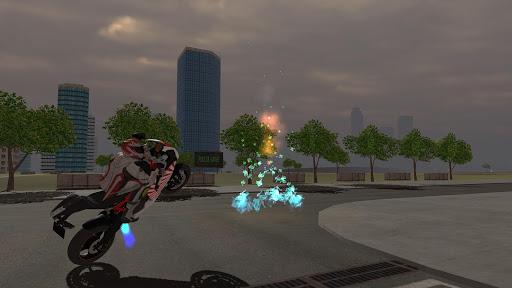 Motorbike Driving Simulator 3D  screenshots 2