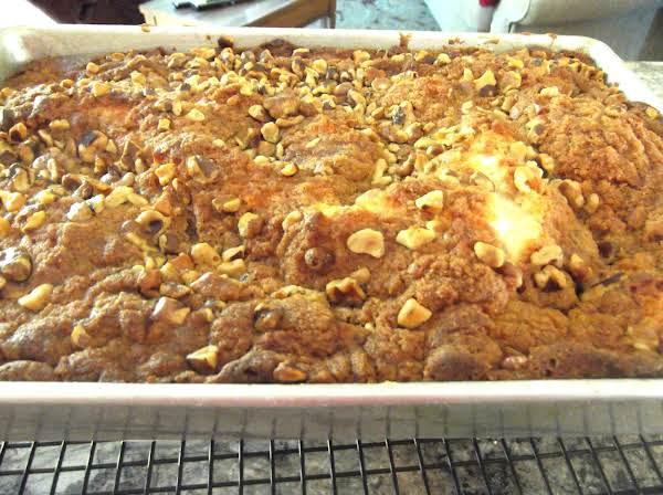 Buttery Cinnamon Streusel Coffee Cake