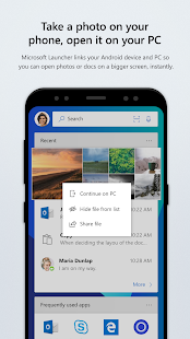 Microsoft Launcher Screenshot