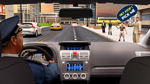New Taxi Simulator u2013 3D Car Simulator Games 2020 13 screenshots 13