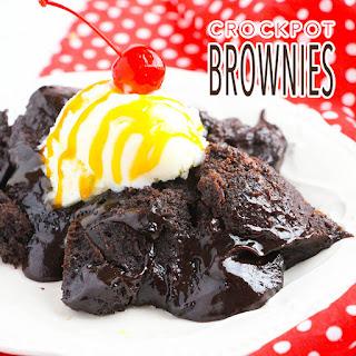 Crockpot Brownies.