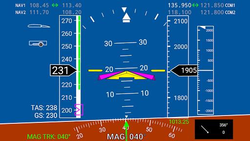 X-Plane Primary Flight Display