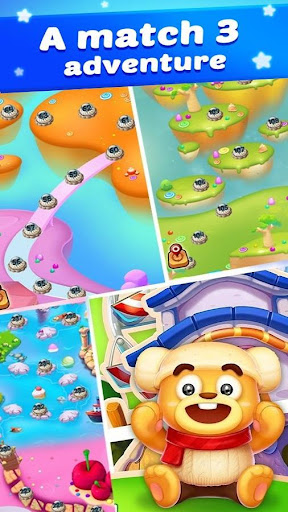 Lollipop Candy: Sweet Match 3 Puzzle Game 9.6.6 Cheat screenshots 4