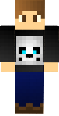 Is a character with a sweter with sans