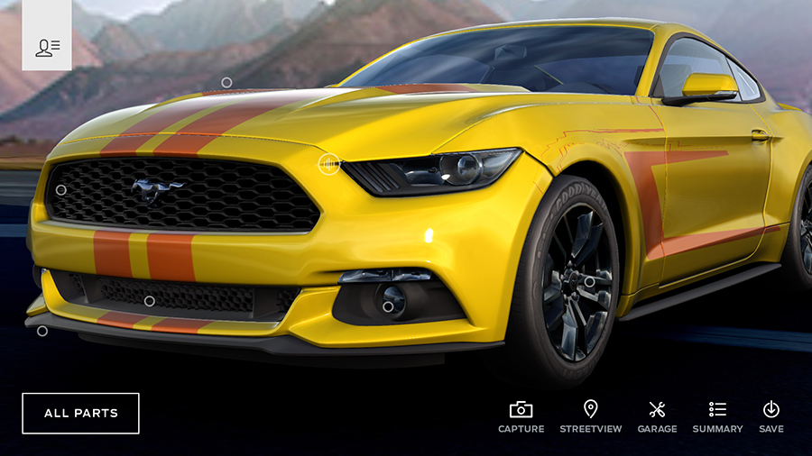 Mustang Customizer- screenshot