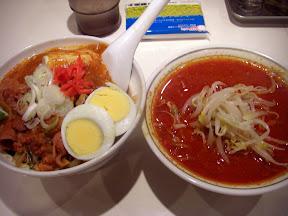 半蒙古丼+半北極らーめんセットのイメージ