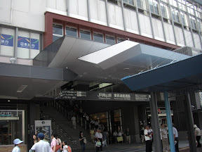 新しくなった岡山駅東口のイメージ